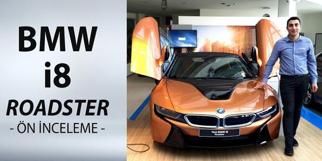 BMW i8 Roadster 2019 Ön İnceleme: Hybrid Otomobil